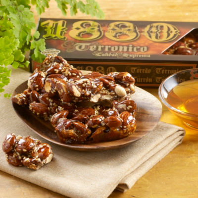 Almond & Sesame Brittle by 1880