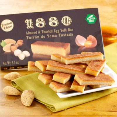 Yema Ground Almond Turrón Candy by '1880'