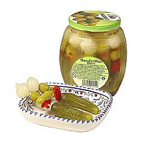 Banderillas en Vinagre - Pickle Skewers