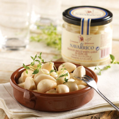 Crunchy Sweet White Garlic (2 Jars)