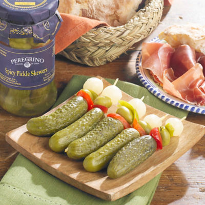 Banderillas en Vinagre - Spicy Pickle Skewers (2 Jars)