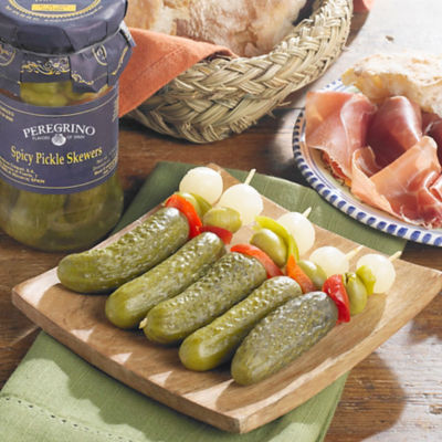 3 Jars of Banderillas en Vinagre - Spicy Pickle Skewers