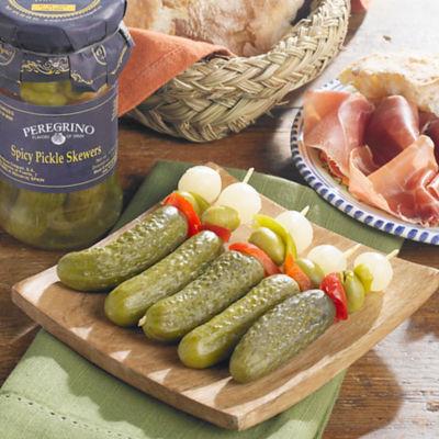 3 Jars of Banderillas en Vinagre - Spicy Pickle Skewers