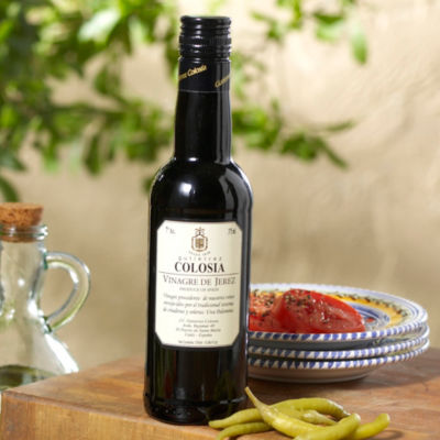 2 Bottles of Sherry Vinegar by Gutierrez Colosia