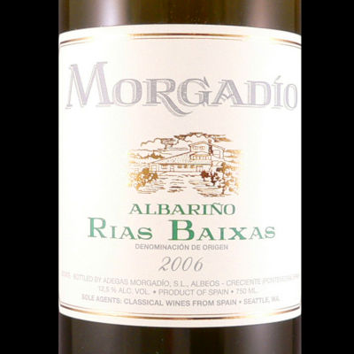 Morgadio Albarino 2006