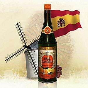 Reál Sangría - Red Wine with Fruit Flavors