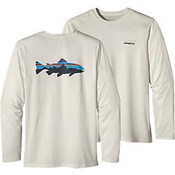 Patagonia Mens Graphic Tech Fish Tee - New