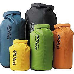 sealline baja dry bag 55l - yellow - closeout- Save 20% Off - SealLine Baja Dry Bag 55L - Yellow - Closeout - Proven on both water and land-based adventures around the world, Baja Bags provide versatile and durable protection. Made with 19 oz. vinyl sides and a heavy-duty 30 oz. bottom, they can withstand just about any abuse Mother Nature, or your crew, can dish out. Baja Bags close with our Dry Seal roll-top Closure and have an attached D-ring for securing inside a raft or on top of a luggage rack.