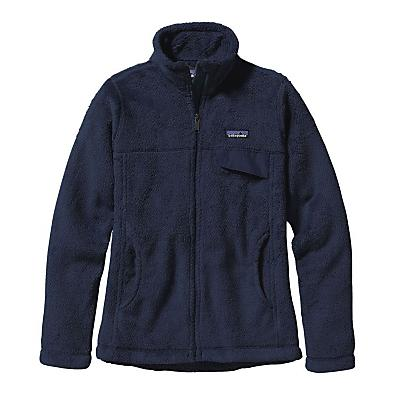 Patagonia Womens Full-Zip Re-Tool Jacket - Navy Blue/Navy Blue X-Dye