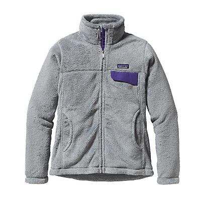 Patagonia Womens Full-Zip Re-Tool Jacket - Sale - Tailored Grey/Nickel X-Dye/Con