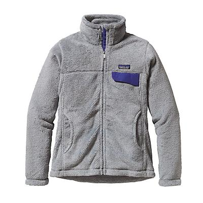 Patagonia Womens Full-Zip Re-Tool Jacket - Tailored Grey/Nickel X-Dye w/H