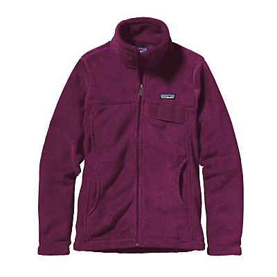 Patagonia Womens Full-Zip Re-Tool Jacket - Violet Red/Violet Red X-Dye
