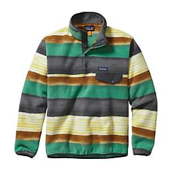 photo: Patagonia Men's Lightweight Synchilla Snap-T Pullover fleece top