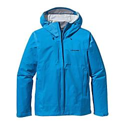patagonia mens torrentshell jacket - closeout- Save 45% Off - Patagonia Mens Torrentshell Jacket - Closeout - Aside from stunning landscapes, Southern Patagonia is known for one thing: wet weather. For trekking and hiking in drenching conditions, our Torrentshell Jacket provides H2NoA(R) Performance Standard protection that's durable, lightweight and simple. We've improved the fit, and the 2.5-layer nylon rain jacket has a waterproof/breathable barrier, a DelugeA(R) DWR (durable water repellent) finish and stuffs into one of two zippered handwarmer pockets (with a carabiner clip-in loop). The hood rolls down, stows away, and has a laminated visor; the center zipper now has sleek minimal-welt exterior and interior storm flaps; and the ventilating pit zips have storm flaps and Deluge DWR-treated zippers. With a microfleece-lined neck, hook-and loop cuff closures and a drawcord hem. Details H2NoA(R) Performance Standard shell with waterproof/breathable 2.5-layer nylon ripstop repels moisture 2-way-adjustable hood with a laminated visor rolls down and stows Microfleece-lined neck provides comfort and protects waterproof/breathable barrier Center-front zipper features minimal welt exterior and interior storm flaps that create a zipper-garage chin guard Pockets: two zippered handwarmers and venting pit zips, all with welted exterior storm flaps and DWR-treated zippers Self-fabric hook-and-loop cuff closures and adjustable drawcord hem seal out moisture Stows in self-stuff handwarmer pocket with carabiner clip-in loop; Re-engineered pattern for improved fit H2NoA(R) Performance Standard shell: 2.5-layer, 2.6-oz 50-denier 100% nylon ripstop with a waterproof/breathable barrier and a DelugeA(R) DWR (durable water repellent) finish 345 g (12.2 oz) Made in Vietnam.
