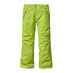 patagonia mens slim powder bowl pants - closeout- Save 45% Off - Patagonia Mens Slim Powder Bowl Pants - Closeout - Some lines are all-time, some are purely survival: Powder Bowls will see you through the full ride. They're our most versatile pants for riding frontside steeps or backcountry couloirs. Made from a rugged, 2-layer 100% polyester GORE-TEXA(R) fabric for exceptional waterproof/breathable and windproof performance, Powder Bowls have a highly articulated fit. A DWR (durable water repellent) finish prevents saturation. Inside, a brushed-tricot lining in the seat and upper thighs manages moisture while slick mesh in the legs glides smoothly over underlayers. External mesh lined thigh vents let you regulate your climate on the uptrack, and articulated knees and a gusseted crotch provide unlimited mobility for catching big air or recovering from said air. Other features include coated, watertight Slim Zips for reduced bulk, gaiters with tenacious gripper elastic, an embedded RECCOA(R) avalanche rescue reflector, and burly scuff guards to protect the inside of the leg and hem from ski edges and postholing abuse. Pockets: two handwarmers, two thigh and one in back. With a slim fit for a more tailored silhouette. Details Durable 2-layer polyester GORE-TEXA(R) fabric for durably waterproof/ breathable and windproof protection Waist details: combination of a slick taffeta and self-fabric lining repels moisture; adjustable elastic tabs customize fit; grown-on belt loops; two-snap closure and zip fly Loop on rear yoke securely attaches pants to powder skirt on any PatagoniaA(R) Snow jacket Slim Zip installation with watertight, coated zippers reduce bulk and weight; zippered pockets: two handwarmers; one rear; one right thigh Gusseted crotch and articulated knees for mobility; external mesh-lined thigh vents quickly release heat and keep out snow Gaiters with a DWR finish seal out snow; tough scuff guards protect inside of leg and bottom hem RECCOA(R) avalanche rescue reflector embedded at lower right leg 2-layer, 4.6-oz 150-denier 100% polyester GORE-TEXA(R) fabric with a DWR (durable water repellent) finish. Lining: seat and upper thighs: 100% brushed polyester mesh. Legs: 100% polyester mesh. Gaiters: 2.3-oz 100% polyester with a DWR finish 760 g (26.8 oz) Made in China.