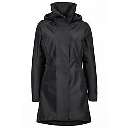 marmot womens downtown component jacket - sale- Save 20% Off - Marmot Womens Downtown Component Jacket - Sale - Practical design, polished style; in the Downtown Component Coat, head-turning looks come free of charge. The two-layer construction is seam taped with a MemBrainA(R) treatment to balances breathability and waterproof protection. A zip-off hood, removable Thermal R(TM) insulating liner, adjustable cuffs and pockets galore polish off this stunner. Don the outer shell or stand-alone liner, or sport both for ultimate winter city comfort. Features Marmot MemBrainA(R) Waterproof/Breathable Fabric Removable Thermal R(TM) Eco Liner Jacket 100% seam taped 2-layer construction Zip-Off Hood Zippered Hand Pockets - For Convenience Internal Zippered Pocket - zips closed to keep your stuff in Adjustable Cuff with Magnetic Closure Specs Center Back Length: 37in / 94cm Overall Weight: 1 lbs 9.5 oz / 722.9 g Main Material: MemBrainA(R)10 100% Polyester Plain Weave 4.2 oz/yd Insulation Material: Thermal R Eco