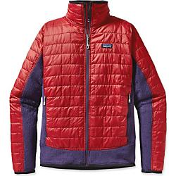 photo: Patagonia Men's Nano Puff Hybrid Jacket synthetic insulated jacket