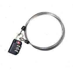 Eagle Creek 3 Dial TSA Lock & Cable New