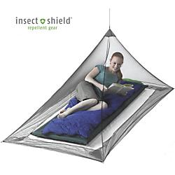 photo: Sea to Summit NANO Mosquito Pyramid Shelter bug net