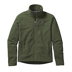 patagonia men's oakes fleece jacket - sale- Save 55% Off - Patagonia Men's Oakes Fleece Jacket - Sale - Made of a soft-wearing heathered fleece, the new Oakes Jacket keeps you cool and contemplative on the Tamalpais loop trail as you climb out of the redwoods and up above the fog. In brushed 5.9-oz 100% cross-dyed polyester, the Oakes features sleek style lines, front and back yoke detailing and a zip-through, double-fabric stand-up collar. Worn on its own or layered under a shell, it has zippered, vertical handwarmer pockets and one zippered pocket on the left chest. Flat seams reduce bulk. Hip length. Details Lightweight, layerable full-zip jacket made of soft, brushed polyester fleece with a heathered face Features zip-through, double-fabric stand-up collar Front and back yoke detail Zippered vertical handwarmer pockets and one left-chest zippered pocket Flat seams for less bulk Hip length 5.9-oz 100% polyester cross-dyed fleece 382 g (13.5 oz) Made in Vietnam.