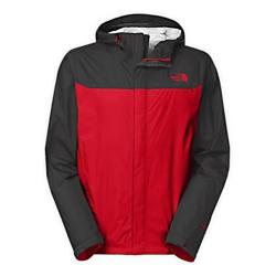 the north face mens venture jacket - closeout- Save 35% Off - The North Face Mens Venture Jacket - Closeout - Editors of Backpacker Magazine awarded this jacket recognition for its eco-conscious construction. Made of an environmentally friendly membrane, this waterproof, breathable outer layer with modern lines will protect you from rain year round. Designed with zippered underarm vents to maximize air flow, an adjustable hood with drawcord for additional protection, and a VelcroA(R) stormflap closure to seal out the rain. New color-blocking on select styles. Waterproof, breathable, seam sealed Attached, fully adjustable hood with hidden drawcord system Brushed chin guard lining Center front zip and VelcroA(R) closure Pit-zip vents Two secure-zip hand pockets Stowable in hand pocket Adjustable VelcroA(R) cuff tabs Hem cinch-cord Fabric:40D 85 g/mA^2 (2.99 oz/yd2) HyVentA(R) 2.5L-100% recycled nylon ripstop Avg Weight:400 g (14.11 oz) Length from Center Back:29.5