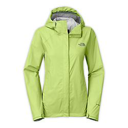 the north face womens venture jacket - closeout- Save 35% Off - The North Face Womens Venture Jacket - Closeout - Editors of Backpacker Magazine awarded this jacket recognition for its eco-conscious construction. Made of an environmentally friendly membrane, this waterproof, breathable outer layer with modern lines will protect you from rain year round. Designed with zippered underarm vents to maximize air flow, an adjustable hood with drawcord for additional protection, and a VelcroA(R) stormflap closure to seal out the rain. New color-blocking on select styles. Waterproof, breathable, seam sealed Attached, fully adjustable hood with hidden drawcord system Brushed chin guard lining Center front zip and VelcroA(R) closure Pit-zip vents Two secure-zip hand pockets Stowable in hand pocket Adjustable VelcroA(R) cuff tabs Hem cinch-cord Fabric:40D 85 g/mA^2 (2.99 oz/yd2) HyVentA(R) 2.5L-100% recycled nylon ripstop Avg Weight:400 g (14.11 oz) Length from Center Back:29.5