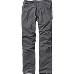 patagonia mens tenpenny pants - short- Save 20% Off - Patagonia Mens Tenpenny Pants - Short - Comfortable, multifunction/all-season pants made of a lightweight, durable organic cotton/nylon blend with a DWR (durable water repellent) finish; articulated knees and a gusseted crotch allow for full range of motion; a more relaxed, movement-oriented fit for comfort and unconstrained movement in any work or play activity. Touring skis or third-hand trucks, we're admirers of well-tuned equipment that you can count on when you're way back of beyond. Built from a light, durable and long-lasting 5.5-oz organic cotton/nylon blend, our new Tenpenny Pants have a road-ready design that blends comfort and utility. Multifunctional and multi-seasonal, they have a more relaxed, movement-oriented fit for comfort and unconstrained movement. The front and back knee articulation and a gusseted crotch allow for full range of motion in any work or play activity. A DWR (durable water repellent) finish keeps them going strong when the weather turns in the mountains. With two front handwarmer pockets, right-front coin pocket, two rear pockets and right-front on-seam utility pocket. Contoured waistband follows the natural shape of the hips. Inseam is 30