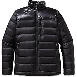 patagonia mens fitz roy down jacket - closeout- Save 20% Off - Patagonia Mens Fitz Roy Down Jacket - Closeout - Combat cold conditions in the high-loft Fitz Roy Down Jacket made with a light and durable nylon shell, high-loft quilting and 800-fill-power Traceable Down. Efficiency in the alpine means high steps, simulclimbing and speedy belay transitions. And, of course, top-quality insulation. Our new Fitz Roy Down Jacket uses ethically sourced and traceable 800-fill-power down in a high-loft quilting design-larger, loftier chambers trap your heat inside the 100% nylon shell with snow-shedding DWR (durable water repellent) finish, which utilizes a special high-sheen fabric construction atop the shoulders for enhanced moisture resistance. Underarm gussets improve range of motion and the center-front zipper has an internal storm flap and a soft, kissing-welt zipper garage with a micro-fleece-lined chin-flap for next-to-skin comfort. A drawcorded hem seals-in warmth and cinches from inside the two zippered handwarmer pockets (another zippered pocket sits on the outer left chest). Soft, low profile, internal elastic-bound cuffs push-up easily, and the included stuff sack has a built-in clip-in loop. Lightweight and durable 100% nylon shell fabric throughout; high sheen fabric on the shoulders, uses interlocking Y-shaped nylon fibers to enhance DWR (durable water repellent) performance; both with a DWR finish Traceable Down (third-party-verified, non-live-plucked, non-force-fed) 800-fillpower goose down; high-loft quilted construction provides maximum warmth Center-front vislon zipper backed with internal storm flap and soft, kissing-welt zipper garage and chin flap with micro-fleece for next-to-skin comfort Two handwarmer pockets and exterior left chest pocket with DWR-coated zippers and garages Underarm gusset improves range of motion Elasticized, low-profile cuffs sit soft on the arm and easily push up and out of the way Hem adjusts by pulling cord in handwarmer pocke