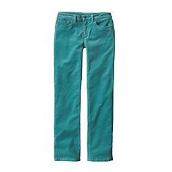 patagonia womens corduroy pants - short - closeout- Save 20% Off - Patagonia Womens Corduroy Pants - Short - Closeout - Classic 5-pocket jeans made of organic cotton corduroy, with stretch for comfort and mobility. Our Corduroy Pants are tough enough for stacking cords of wood in the flatbed and soft enough for the long ride back from Targhee. The classic 5-pocket cords are made from durable organic cotton corduroy with stretch for comfort and mobility. A low-rise back yoke adds shape; straight leg opening accommodates boot or approach shoe. Features include a flat waistband with belt loops; zip fly and front shank-button closure. Inseam is 30