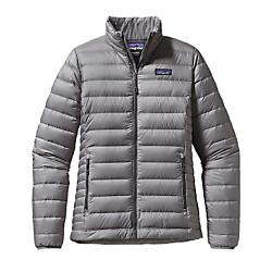 patagonia womens down sweater jacket - sale- Save 45% Off - Patagonia Womens Down Sweater Jacket - Sale - The perfect warmth for just about everything, our classic Down Sweater is lightweight, windproof, and fine-tuned this season with a new 100% recycled polyester ripstop shell, 800-fillpower Traceable Down, and improved fit. Everyone else is skiing, in the gym or by the fireplace, but you're still racking-up below sun-touched rock. Our Down Sweater's featherweight, superbly compressible warmth is for you. The revised 100% polyester ripstop shell on this down jacket does more than look sharp; it's tear-resistant, snow shedding and windproof. Details include top-quality, ethically sourced and traceable 800-fill-power premium European goose down stabilized with a quilted-through construction, two exterior zippered pockets and an interior chest pocket that doubles as a zippered stuffsack with a carabiner clip-in loop. Now with a more contoured fit, new quilting lines and a slightly longer hem. Nylon-bound elastic cuffs and drawcord hem (tightens from inside the handwarmer pockets) seal in heat, and the DWR (durable water repellent) finish sheds moisture. New shell fabric has an updated ripstop pattern, and like the liner, is still a 100% recycled polyester fabric with a DWR (durable water repellent) finish Traceable Down (third-party-verified, non-live-plucked, non-force-fed) 800-fill-power goose down Updated fit is more contoured and has a longer hem; horizontal quilt lines in body and narrow horizontal quilt lines on side panels Center-front vislon zipper has wicking interior storm flap and zipper garage at chin for next-to-skin comfort Two secure handwarmer pockets have vislon zippers and garages; internal zippered chest pocket self-stuffs and has a carabiner clip-in loop Comfortable nylon-bound elastic cuffs seal in warmth Hem adjusts by pulling cord in handwarmer pockets and releases with cordlocks at front hem Shell: 1.4-oz 20x30-denier 100% recycled polyester ripstop with a DWR (durable water repellent) finish. Lining: 1.5-oz 22-denier 100% recycled polyester ripstop with a DWR (durable water repellent) finish. Insulation: Traceable Down (third-party-verified, non-live-plucked, non-force-fed) 800-fill-power goose down 345 g (12.2 oz) Made in Bangladesh.