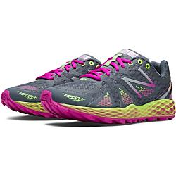 new balance womens fresh foam 980 trail - closeout- Save 45% Off - New Balance Womens Fresh Foam 980 Trail - Closeout - Born of science, the Fresh Foam 980 Trail is unlike anything you've ever stepped into. Developed using specialized design software, this women's trail running shoe features a full-ground-contact outsole that grips uphill and downhill for great traction. And while you're on the move, the gusseted tongue helps keep trail debris from getting into your shoes. For a secure fit, the breathable mesh upper features simple no-sew overlays that wrap your foot in all the right places. The New Balance Fresh Foam 980 Trail: incredibly soft yet stable...even on tough terrain. FEATURES 4 mm drop: due to variances created during the development and manufacturing processes, all references to 4 mm drop are approximate Aggressive lugged outsole gives maximum traction for off-road activities No-sew material application Synthetic/mesh upper Women's Trail Running Type: Cushioning Weight: 228 grams (8.1 oz)