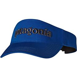 photo: Patagonia Logo Visor sun hat