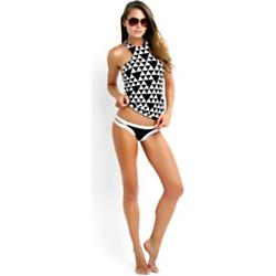 Seafolly Costa Maya High Neck Singlet Tankini Top Sale