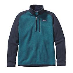 Patagonia Mens Better Sweater Quarter Zip Fleece - New