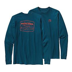 Patagonia Mens Long-Sleeved Chouinard Ice Tools Cotton T-Shirt - New