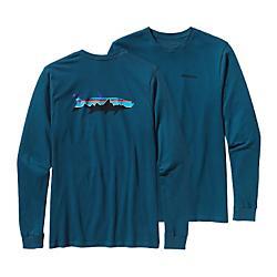 Patagonia Mens Long-Sleeved Fitz Roy Tarpon Cotton T-Shirt - New