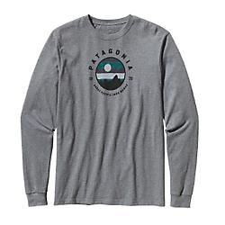 Patagonia Mens Long-Sleeved Moonbeam Bivy Cotton T-Shirt - New
