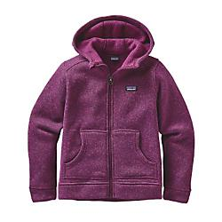 photo: Patagonia Girls' Better Sweater Hoody fleece jacket