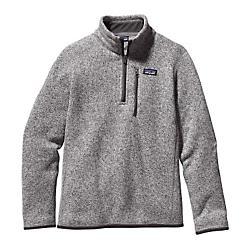 Patagonia Boys Better Sweater 1/4 Zip Fleece - New
