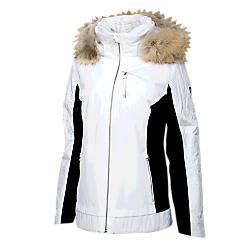 Spyder Womens Diamond Real Fur Jacket - New