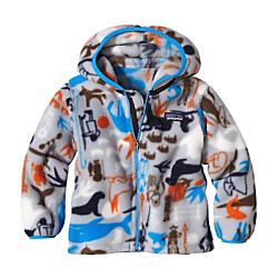 photo: Patagonia Baby Synchilla Cardigan fleece jacket