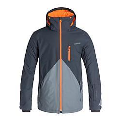 Quiksilver Mens Mission Color Block 10K Snow Jacket - New