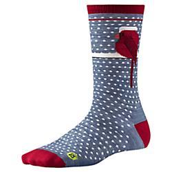 Smartwool Womens Charley Harper Cool Cardinal Crew Socks - New