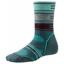 Smartwool Womens PhD Outdoor Medium Pattern Crew Socks - New