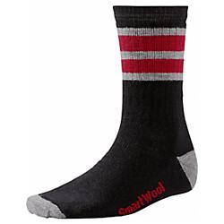 Smartwool Mens Striped Hike Medium Crew Socks - New