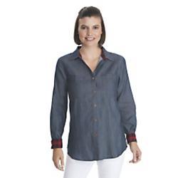 Woolrich, Inc Womens Pendulum Denim Shirt II - New