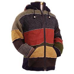 Laundromat Mens Patchwork Sweater - Sale