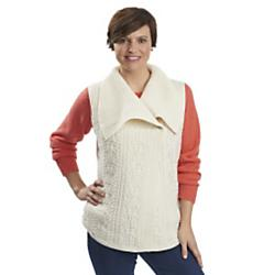 Woolrich, Inc Womens Hanna Cable Sweater Vest - Sale