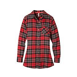 Mountain Khakis Womens Penny Plaid Tunic Shirt - New