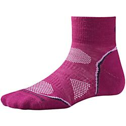 smartwool womens phd cycle light mini socks- Save 5.% Off - Smartwool Womens PhD Cycle Light Mini Socks - These low profile cycling socks feature the 4 Degree elite fit system for superb stretch and recovery. Plus, our patented ReliaWool technology provides extra durability designed to outlast a year's worth of centuries.